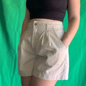 Vintage 90s Dockers High waisted shorts size L